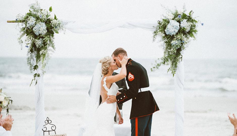 Palmetto Dunes Military Wedding Packages