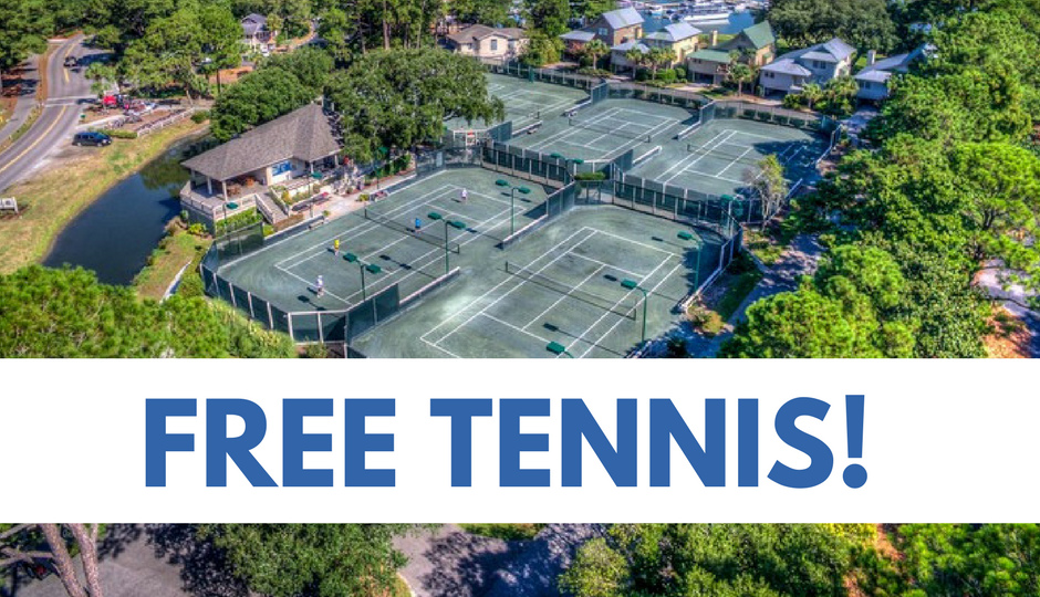 Free Tennis with your Stay!