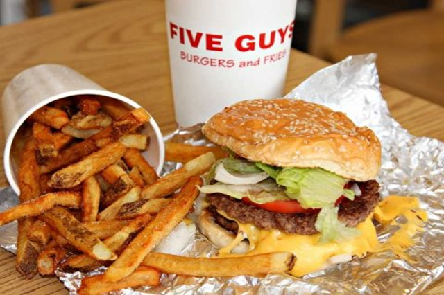 Five Guys Burgers and Fries Hilton Head Island