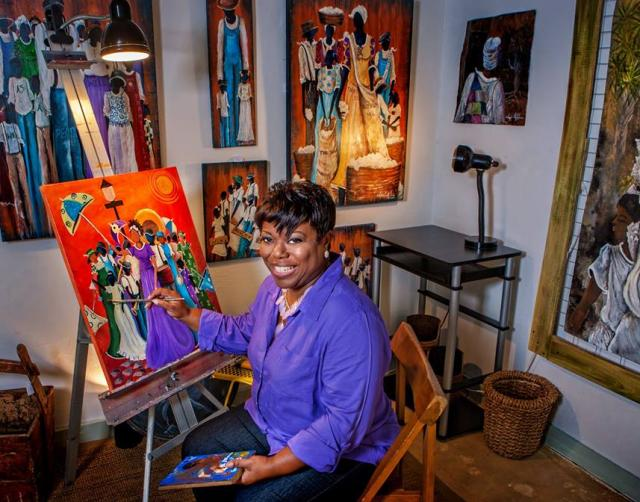 The Art of Sonja Griffin Evans