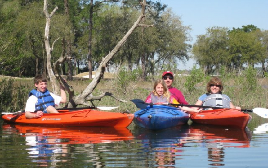 Kayak Hilton Head and Dolphin Discoveries Boat Tours