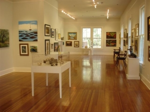 Outside the Lines, a Must-See at Coastal Discovery Museum in Honey Horn
