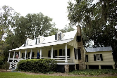 Old Town Bluffton welcome center - Heyward House