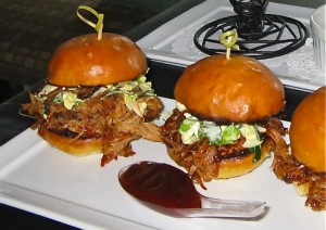 Bombora's pulled pork slider