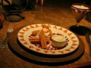 Santa Fe Cafe, Churros
