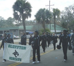 Bluffton ML King Day, Bluffton Bobcats