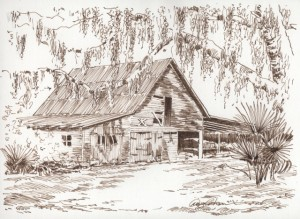 Pinkney Place Barn by Doug Corkern