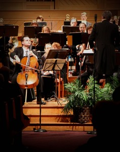 Flashback to season opener:  Ilya Finkelshteyn plays Dvorak's Cello Sonata in B Minor, Op. 104
