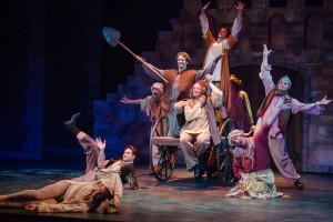"""After 40 years in America - and nine on Broadway – Monty Python's Spamalot is modestly optimistic.  Certainly """"Not Dead Yet."""""""