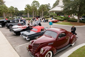 Cars will be on display in Harbour Town the morning of Friday, November 1