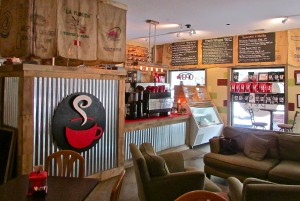 It's easy to relax at The Corner Perk. Upbeat yet laid back - just like Bluffton!