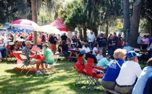 Welcome to the 9th Annual Historic Bluffton Arts & Seafood Festival! Lots to see and lots to eat!