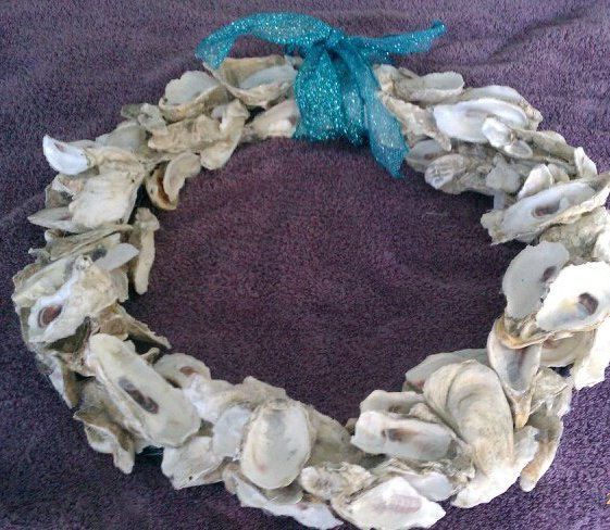 Lowcountry Oyster Wreath!