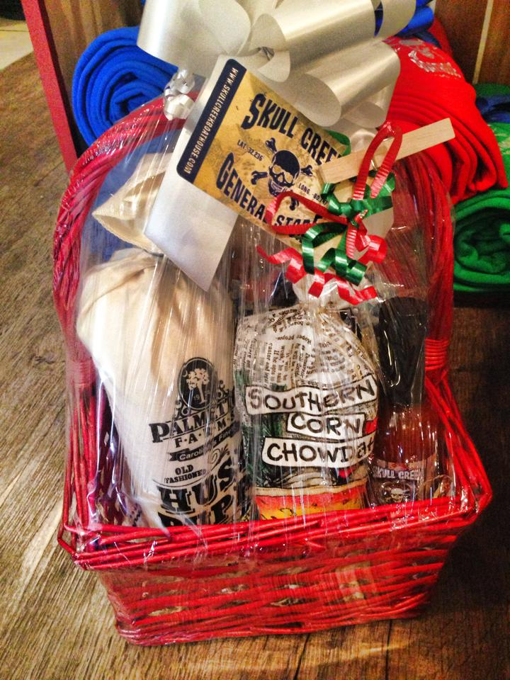 taste of the lowcountry gift basket