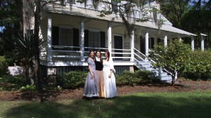 The Heyward House Museum is located squarely in Old Town Bluffton and is an awesome place to learn  about the town's  history.