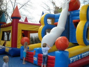 Kids will find plenty of fun at the Wingfest Kids Zonetoo - plus music and cooing demonstrations for everyone to enjoy. Photo: Island Recreation Association