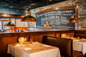 Rustic yet refined, Lucky Rooster Kitchen + Bar, has the understated ambiance of yesteryear, and a fabulous menu that is 2014. Photo: Lucky Rooster Kitchen + Bar