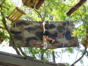 Mastering the suspended climbing wall