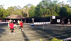 Pro Exhibitions at Sea Pines Racquet Club
